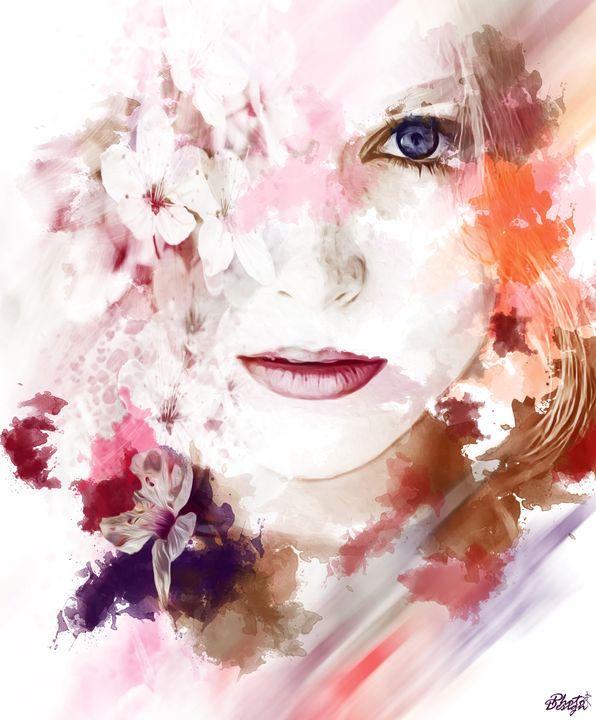 Sakura Girl - Photo Design AJ