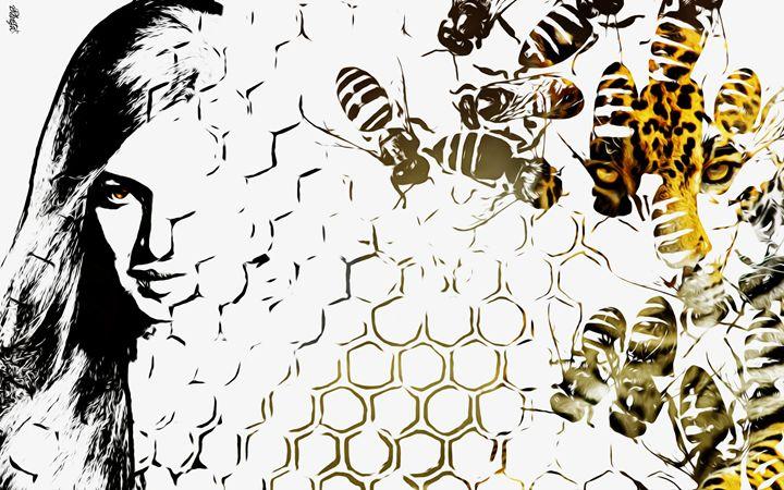 Beehive Portrait - Photo Design AJ