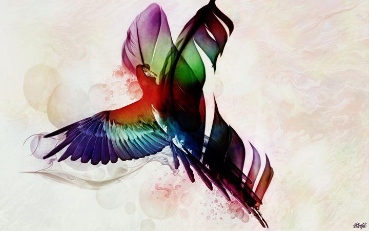 Parrot's Feather - Photo Design AJ