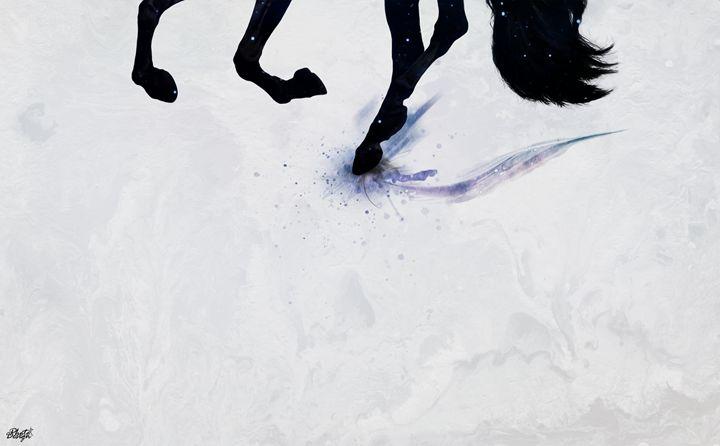 Dreamy Horse - Photo Design AJ