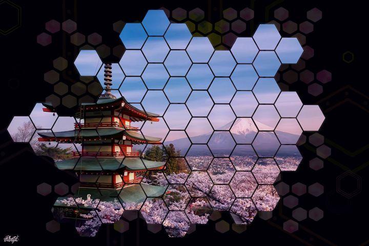 Fuji Sakura - Photo Design AJ