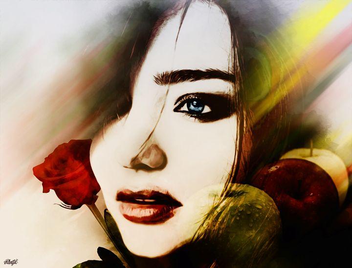 Miranda Kerr Portrait - Photo Design AJ