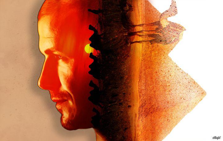 David Beckham Portrait - Photo Design AJ