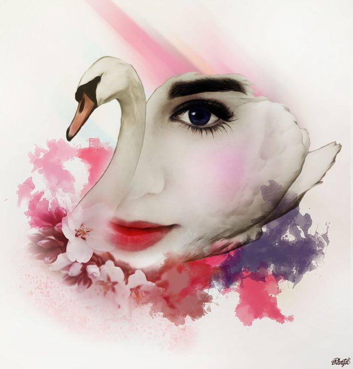 Lily Collins Portrait - Photo Design AJ