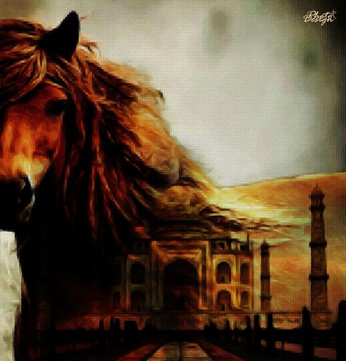 Horse Mosaic - Photo Design AJ