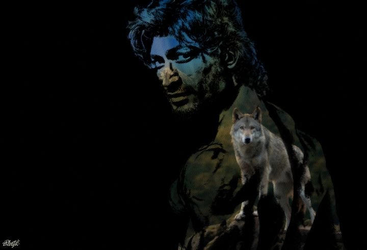 Vidyut Jamwal Portrait - Photo Design AJ