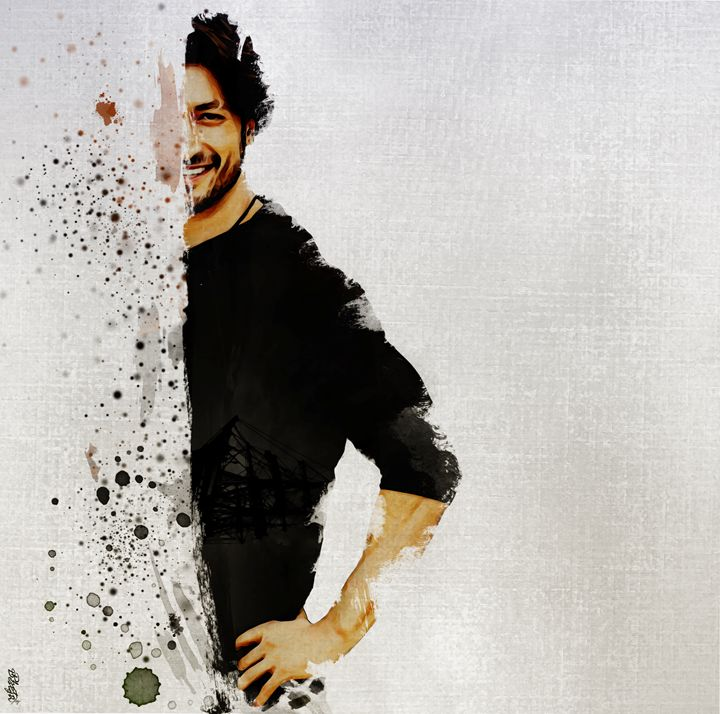 Vidyut jamwal portrait - Photo Design AJ