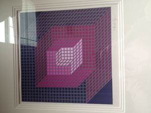 Victor Vasarely - Axomett- France