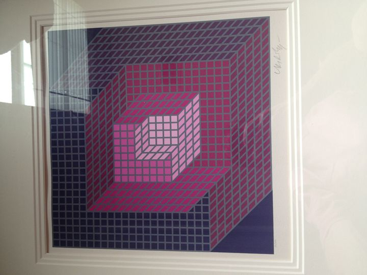 Victor Vasarely - Axomett- France - Wyatt P.