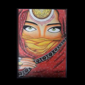 The face behind the dupatta