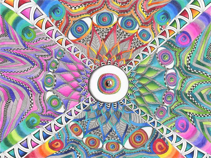 Lotus Eyes - Art by Cecilia Schmitt