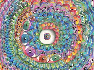 Divided Eyes - Art by Cecilia Schmitt