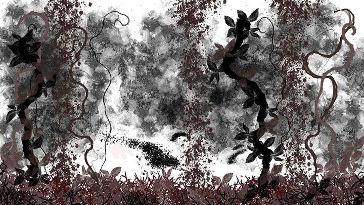 Creepy - Digital Abstract Awesome