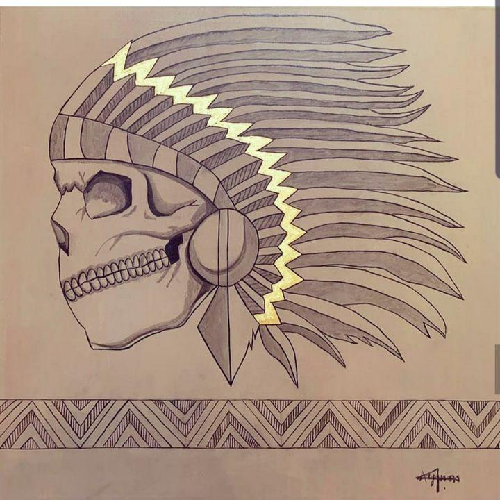 skull - ayman ayoobi