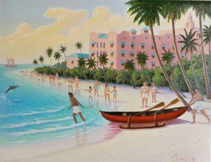 Royal Hawaiian Hotel - Miguel Duran