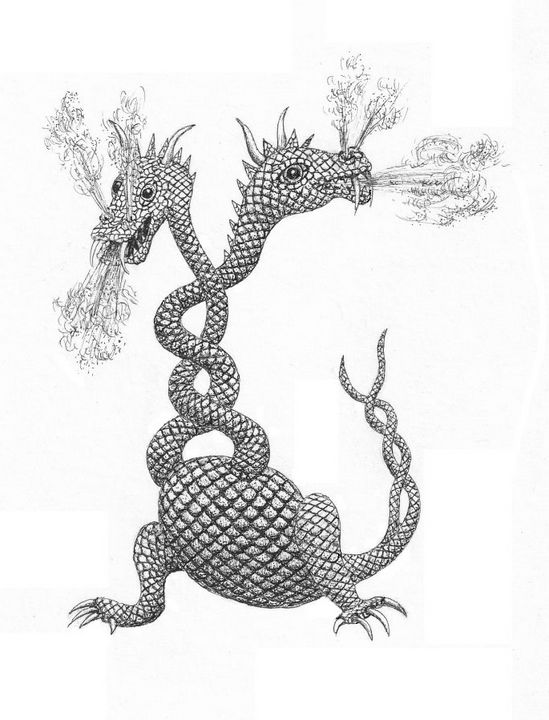 two-headed dragon - Mixt Villars