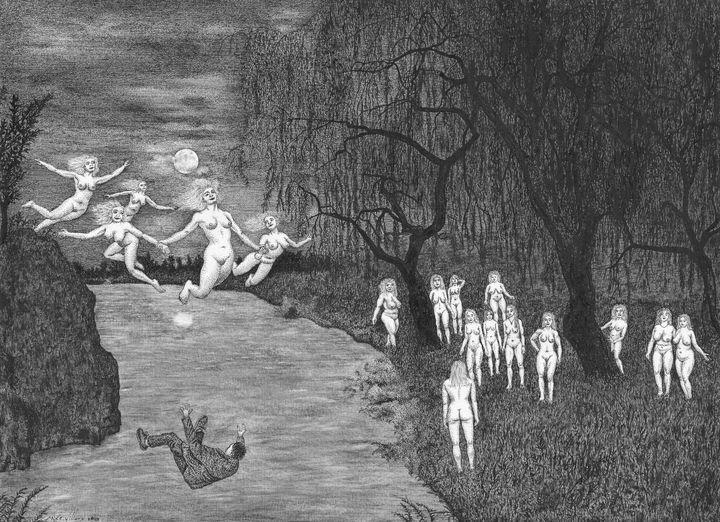 The witches' Sabbath - Mixt Villars