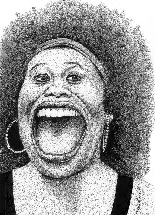 The smile of a beautiful black woman - Mixt Villars