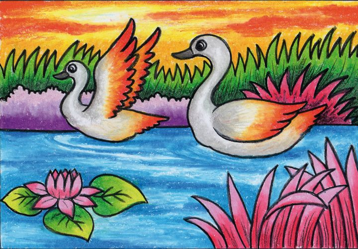 A pair of swans - Tri Harianto