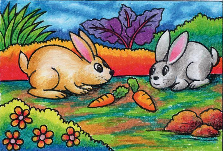 Two rabbits - Tri Harianto