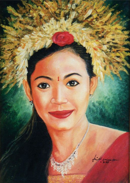 Balinese girl - Tri Harianto