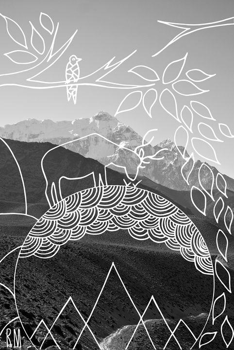 Mountain Deer - RM