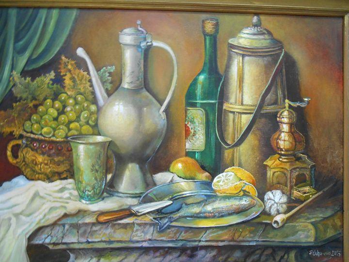 Still Life Varieties /a/-sold - Four Seasons -Artworld