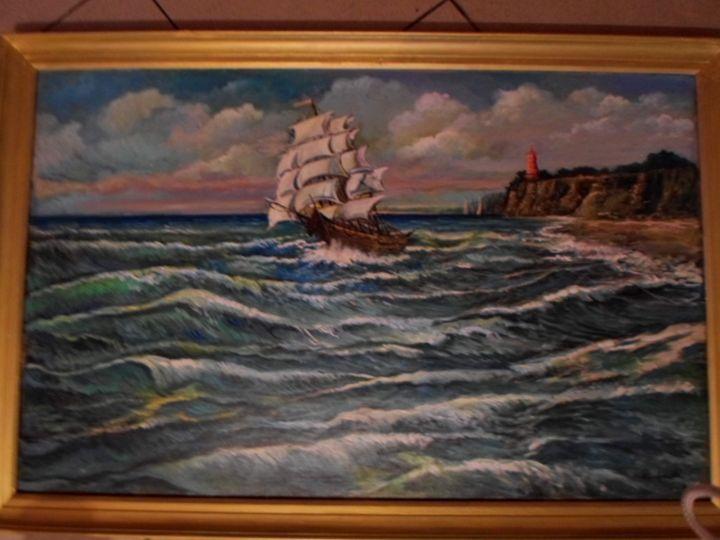Sailing to the open ocean - Four Seasons -Artworld