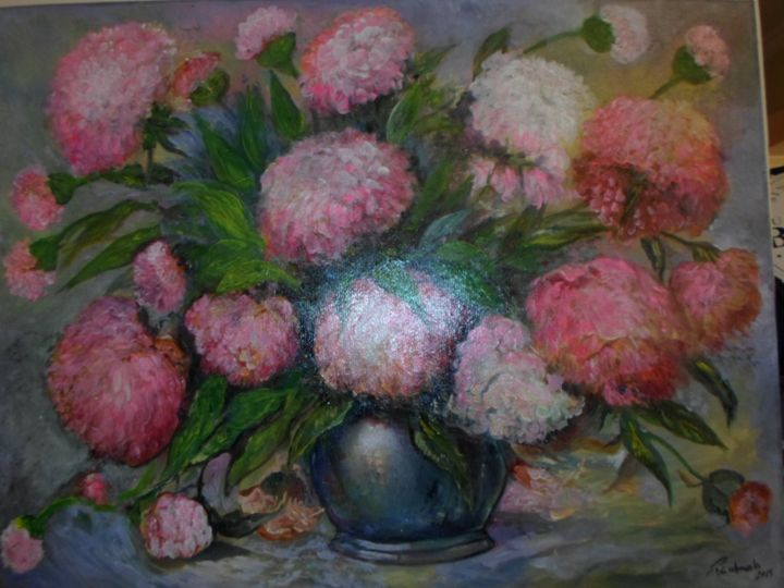 Peonies magic - Four Seasons -Artworld