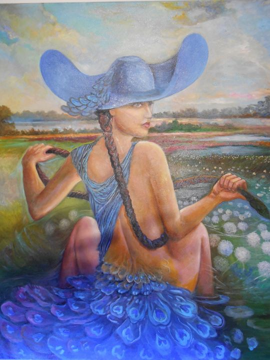 Peacock-mystery woman 2 - Four Seasons -Artworld