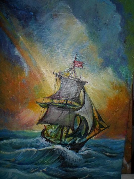 Ocean passage - Four Seasons -Artworld
