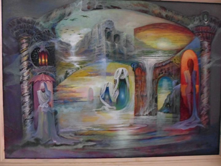 Worlds and Mysteries no 1 - Four Seasons -Artworld