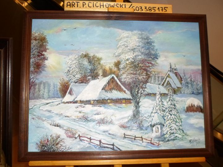 Winter in a countryside. - Four Seasons -Artworld