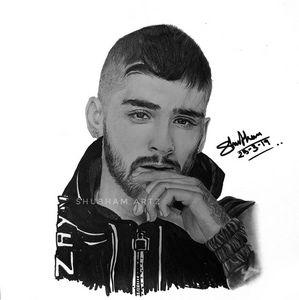 Zayn Malik Artwork