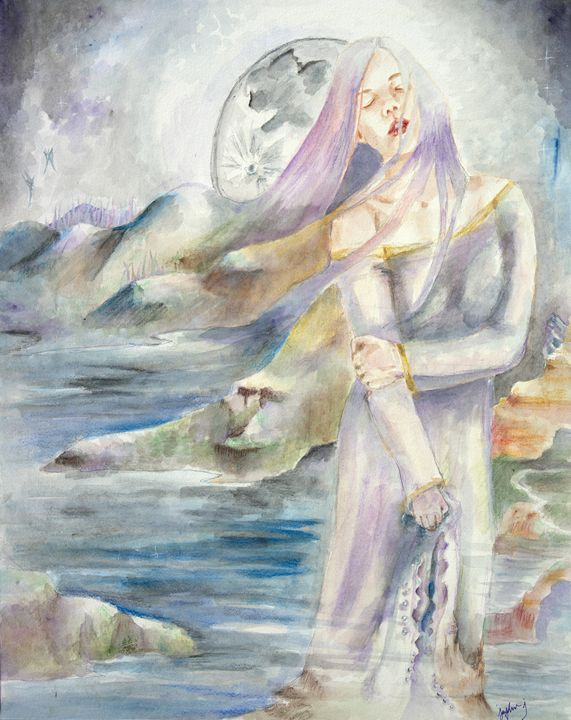 Lady of Shallot - JJ Art Creations