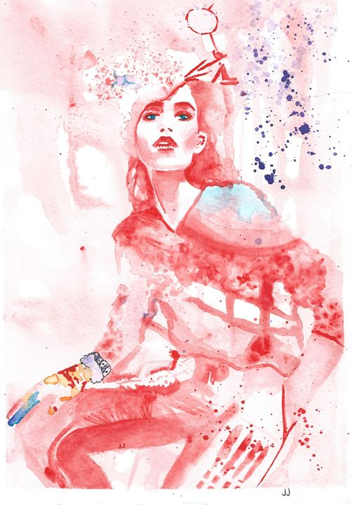 Red Heart - JJ Art Creations
