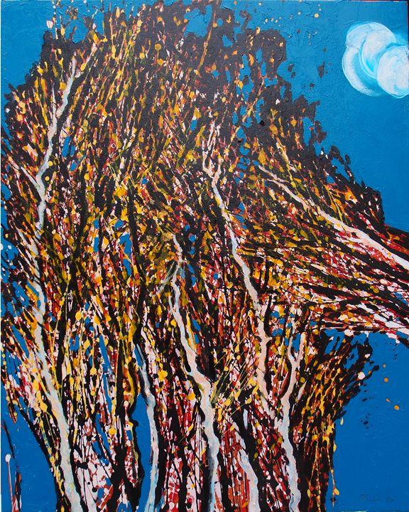 Spring 3. Abstract landscape - M.D. Art Studio