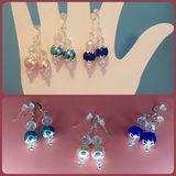 Three Pairs Pearl Earrings