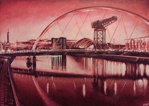 Glasgow's Squinty Bridge
