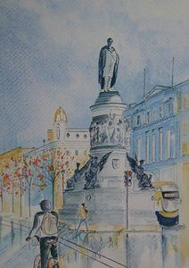 O'Connell St Dublin. Ireland