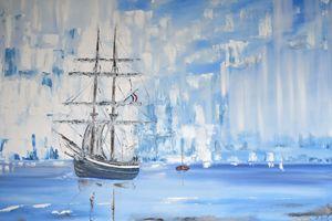 "Ship."" The Morgenster on Stage"" - G.Ryan ( Geraldine )"