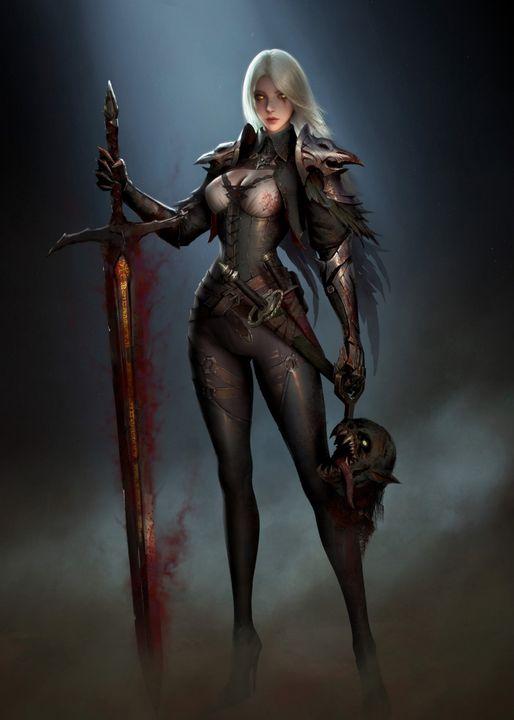girl of dark - davinci