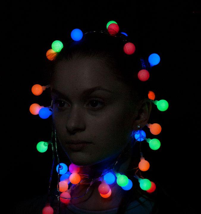 Human Christmas Tree - Katy Goodwin