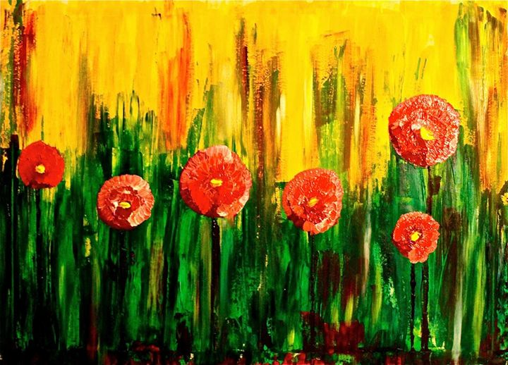 Spring time in Sweden - Ruben Dario art