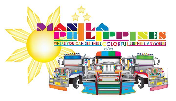 colorful jeepneys - Blackinkvalt04
