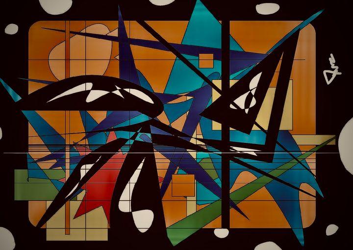 The Artist at Work - Duncan Sheffels
