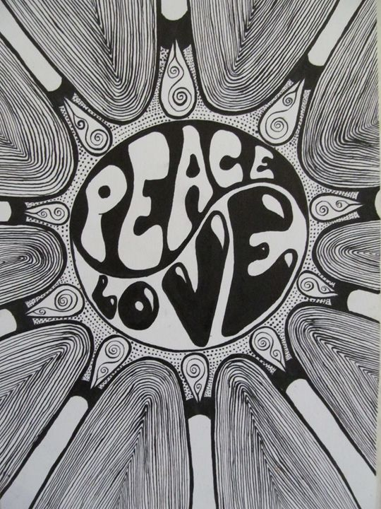 Peace and love - Gotié