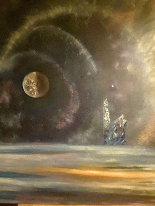 Xylon fell, West Mars. - Cronkwoodsestatestudios