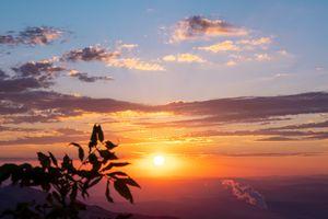 Sunrise in the Switzerland