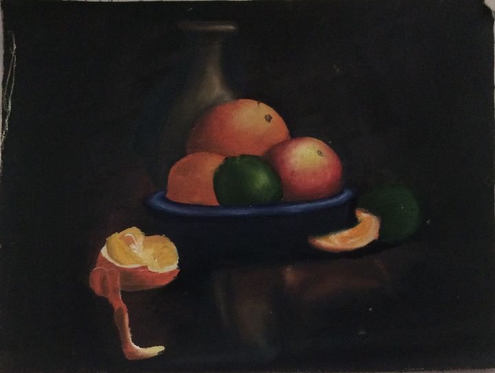 oil painting - yesheswani's hobbiee